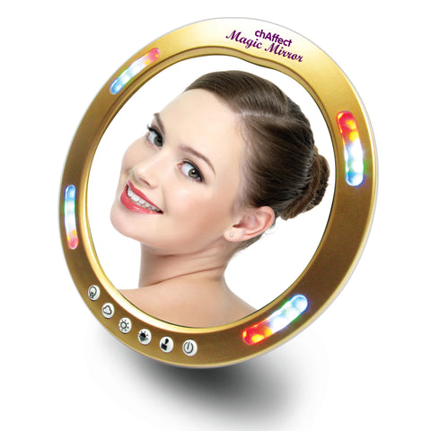 Mini 'Magic' Mirror - Makeup Mirror - With Interactive Light Spectrum