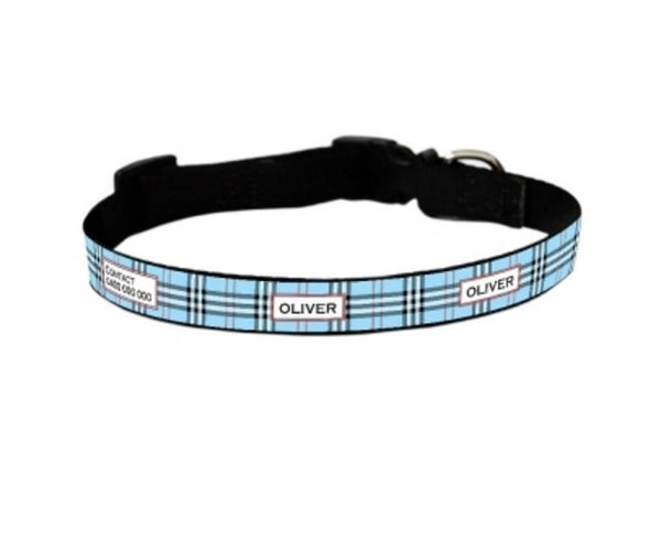 Barkberry Personalized Pet Collar
