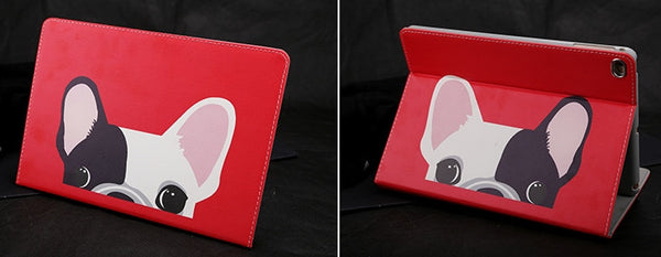 Peekaboo Frenchie iPad Cover