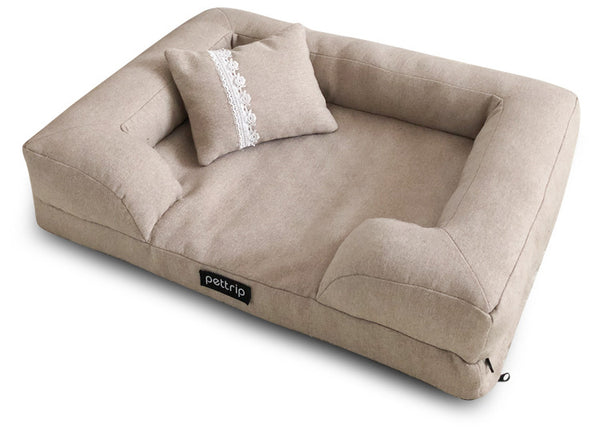 Cassie Bolster Couch Dog Bed
