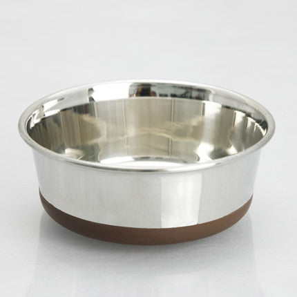Anti-Slip Stainless Steel Pet Bowl