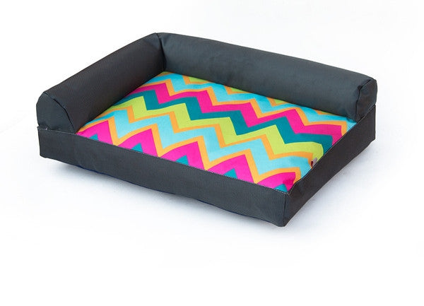 Stella Prints Couch Dog Bed