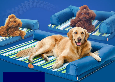 Bossy Bolster Couch Dog Bed (NEW & IMPROVED)