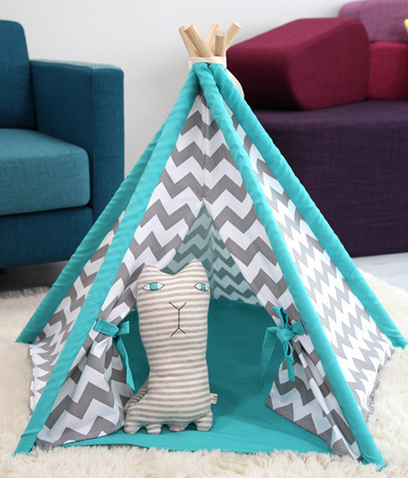 Greyson Chevron Pet Teepee