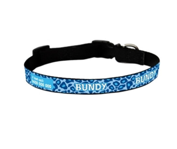Leopatra Personalized Pet Collar