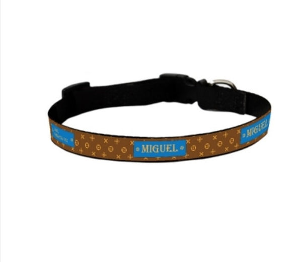 Louie Personalized Pet Collar