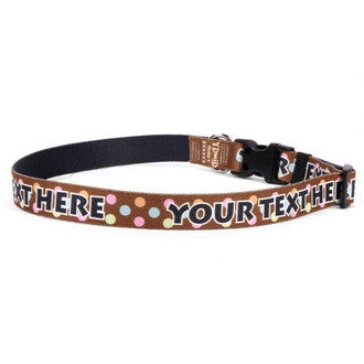 Noel Personalized Dog Collar