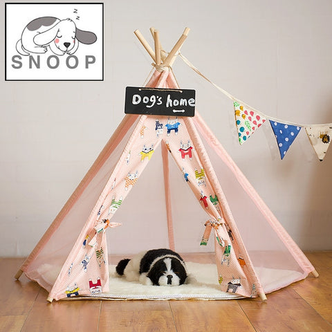 (SALE) Bunny Teepee in Pink