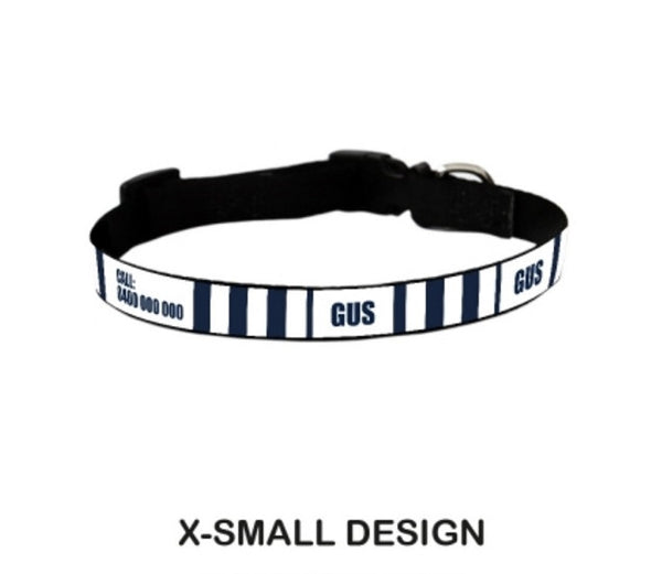 Referee Personalized Pet Collar