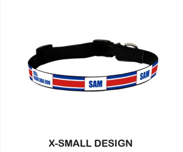 Atheletic Personalized Pet Collar