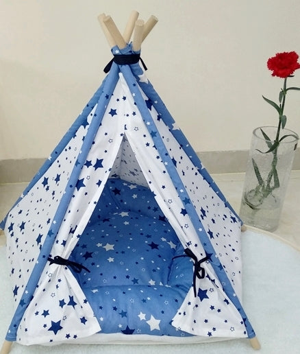 Sweet Dreams in Blue Teepee