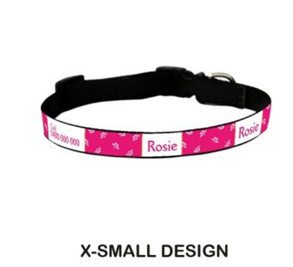 Disney Aurora Personalized Pet Collar