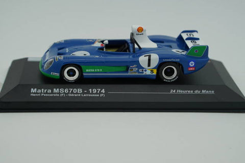 MTM24H007 Le Mans 24 Hours Matra MS670B