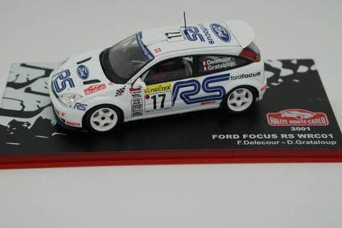 MTMRMC15 Ford Focus RS WRC01 2001