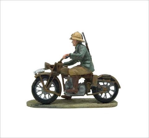MTMM001 Dispatch Rider Gilera Marte, Expeditionary infantry, Italian Army. Libya 1940.