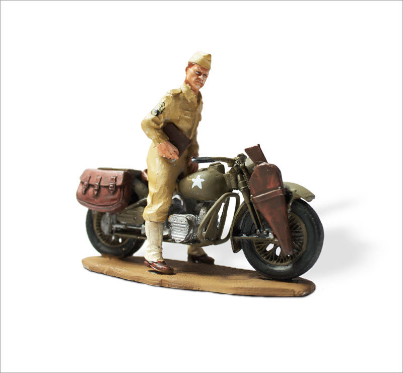 MTMM020 Dispatch Rider Harley Davidson XA, Infantry 1943