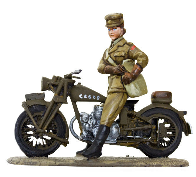 MTMM008 Dispatch Rider British Army Nursing Service, Enfield, 1939 - 1945