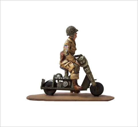MTMM012 Dispatch Rider Cushman Airborne Scooter 53A .1, Screaming Eagles 101st Airborne Division, 1944