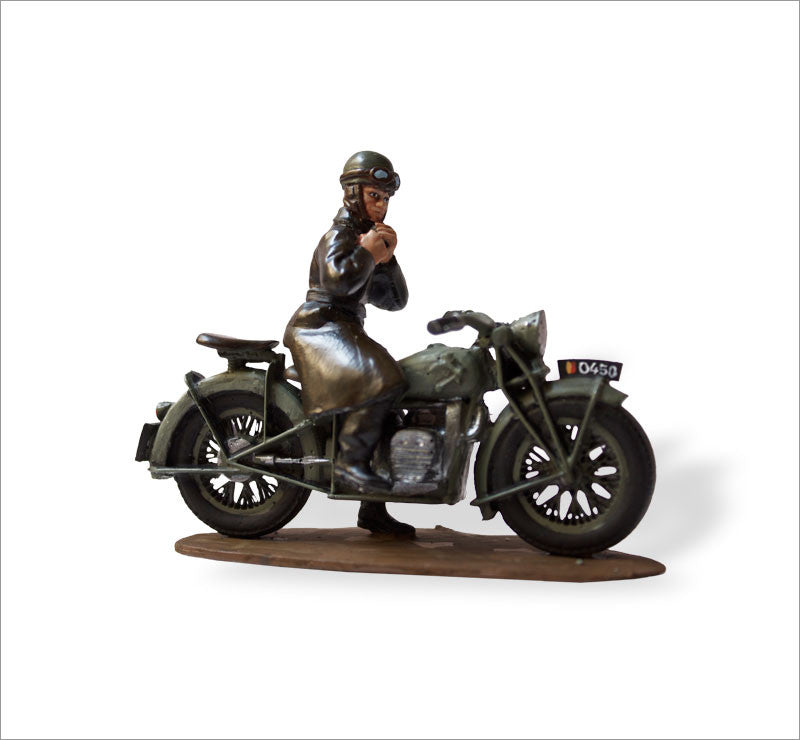 MTMM013 Dispatch Rider FN, Motorized Cavalry Corps, Belgium 1940