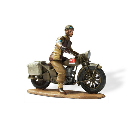 MTMM019 Dispatch Rider BSA M20, New Zealand Infantry