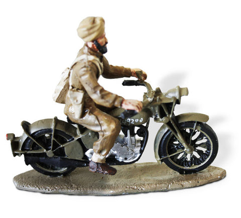 MTMM023 Dispatch Rider Sikh Infantry BSA WB3