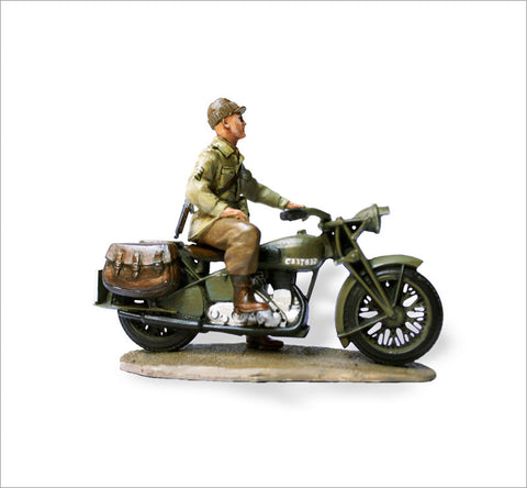 MTMM024 Dispatch Rider 63rd US Infantry Division Norton Four