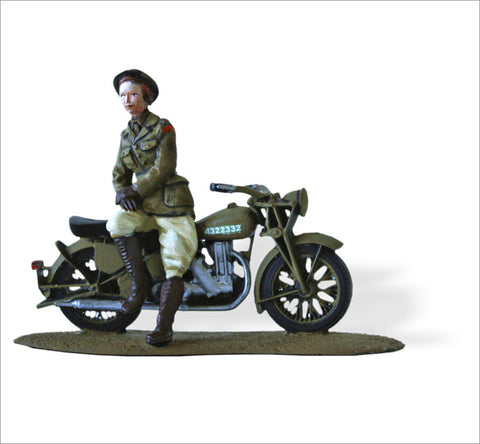 MTMM042 Female Liaison, Australian National Emergency Service Velocette MDD