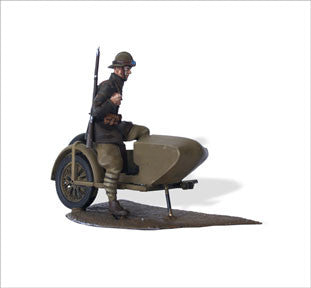 MTMM047 French Mechanised Infantry, 1940.  Gnome Rhône AX2 800 Sidecar