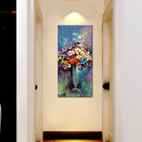 WallMantra Big Painting Beautiful Flower Wash Canvas Printed Wall Painting