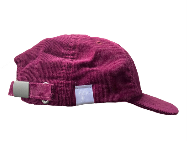 Logo 6 Panel - Wine Corduroy
