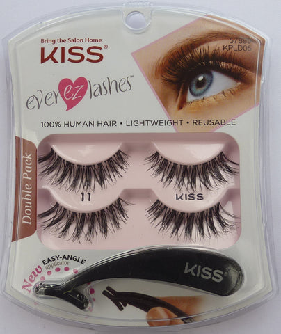KISS EVER-EZ Lash Double Pack 11