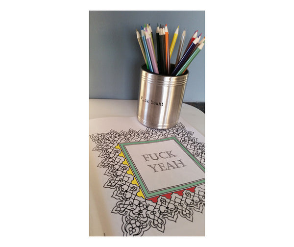 F_ck Yeah! Color THIS™ Adult Coloring Book