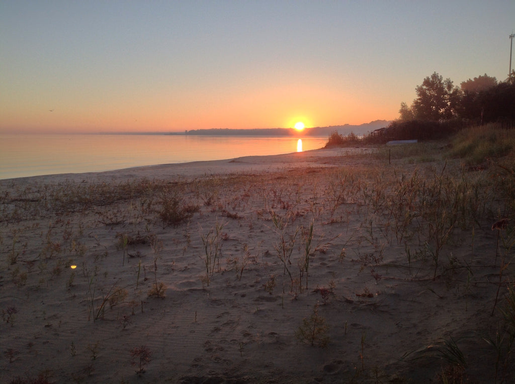 Sunset on Saginaw Bay Michigan