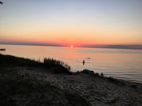 Saginaw Bay Sunsel