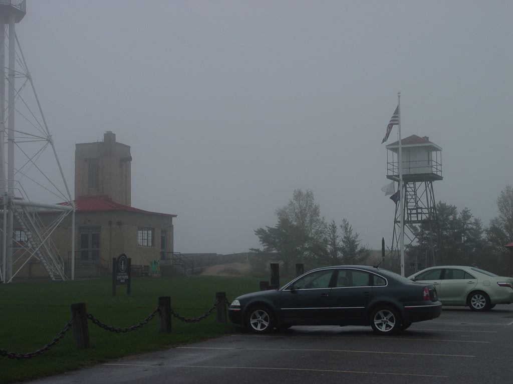 Whitefish Point in the Fog