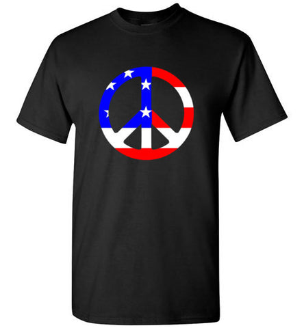 Peace Sign Tee Shirt