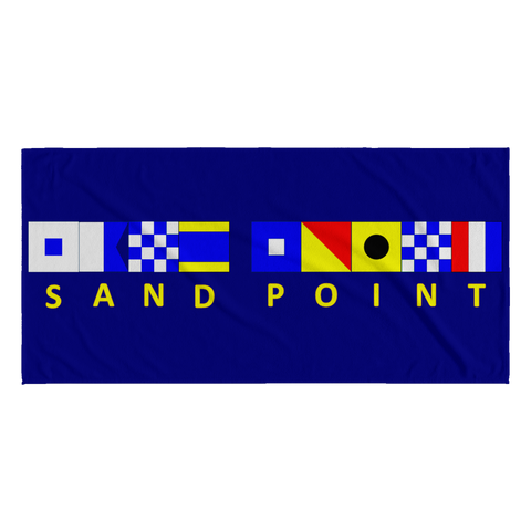 Sand Point Beach Towel