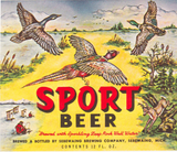 Sebewaing Brewery Sport Beer Label