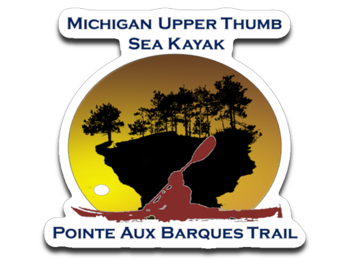 Point Aux Barques Trail Decal | ThumbWind - Thumbwind  Mercantile