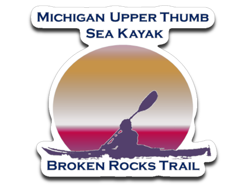Broken Rocks Trail Decal - Thumbwind  Mercantile