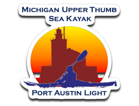 Port Austin Light Decal - Thumbwind  Mercantile