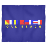 Oak Beach Fleece Blanket