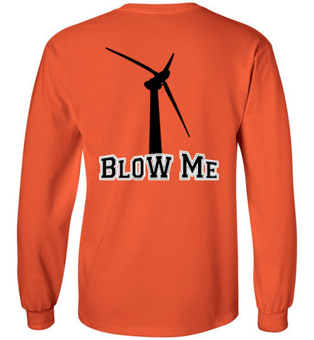 Michigan's Thumb wind turbine blow me