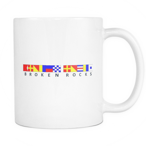 Broken Rocks Michigan Coffee Mug