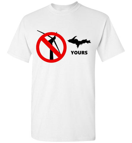 No Wind - UP Yours T-Shirt - Thumbwind  Mercantile