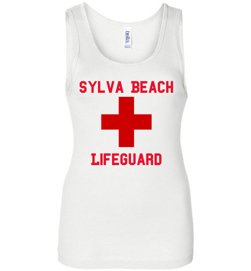 White Tank Sylva Beach Lifeguard