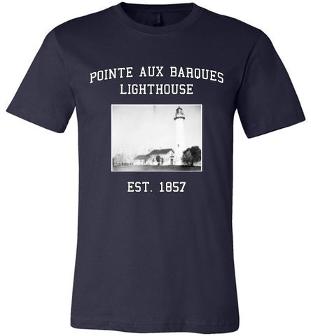 Pointe Aux Barques Lighthouse Tee Shirt - Thumbwind  Mercantile