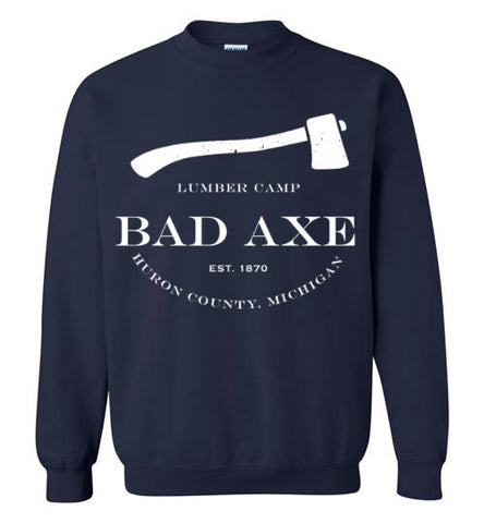 Vintage Bad Axe Lumber Camp 1870 Sweatshirt