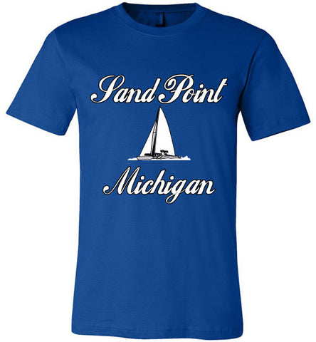 Sand Point Michigan Tee Shirt - Thumbwind  Mercantile