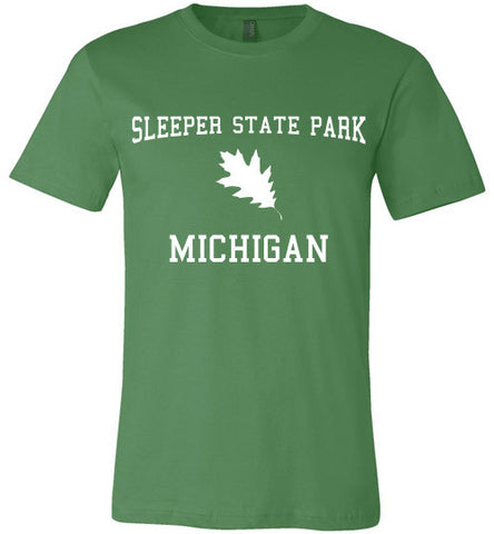 Michigan's Sleeper State Park T-Shirt | ThumbWind.com - Thumbwind  Mercantile